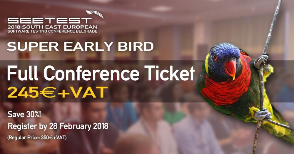 Super Early Bird Registration is open!