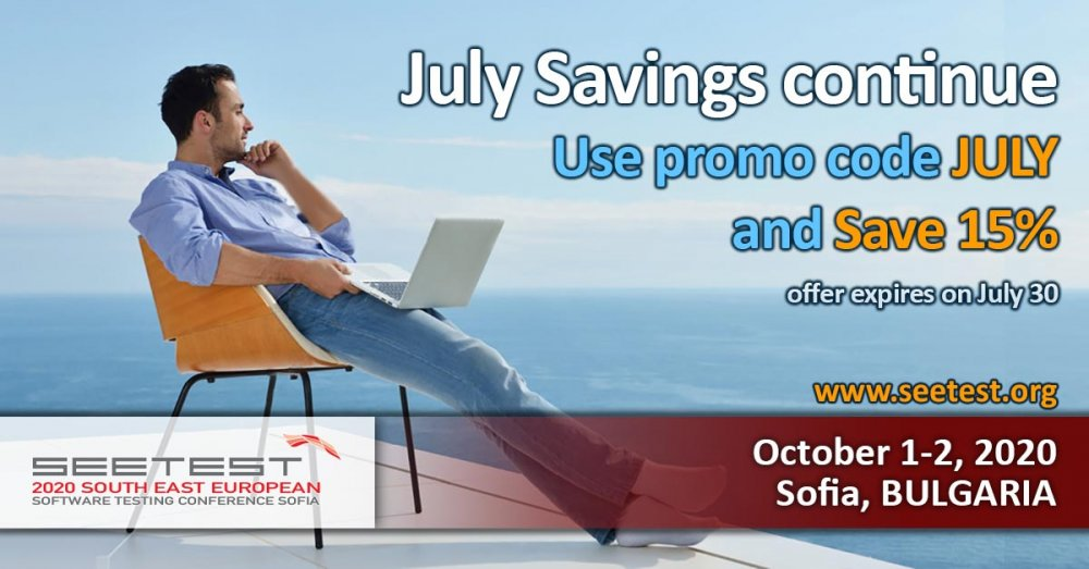 July Savings continue!