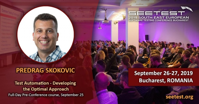 New pre-conference course with Predrag Skokovic!