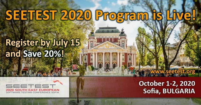 SEETEST 2020 program is now live!